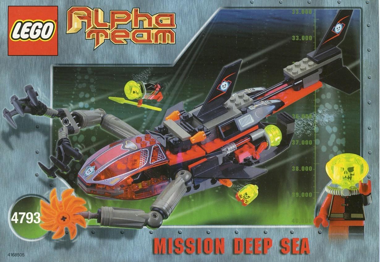 lego alpha team instructions