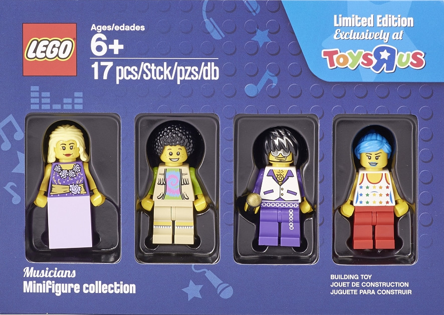 LEGO Cops /& Robbers Minifigure Collection Exclusive Toys R Us Bricktober 4-pack 5004574