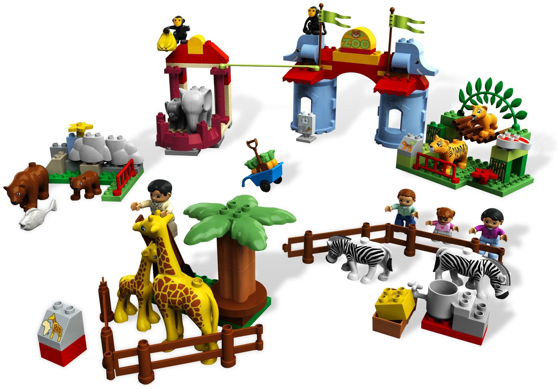 lego duplo big zoo instructions