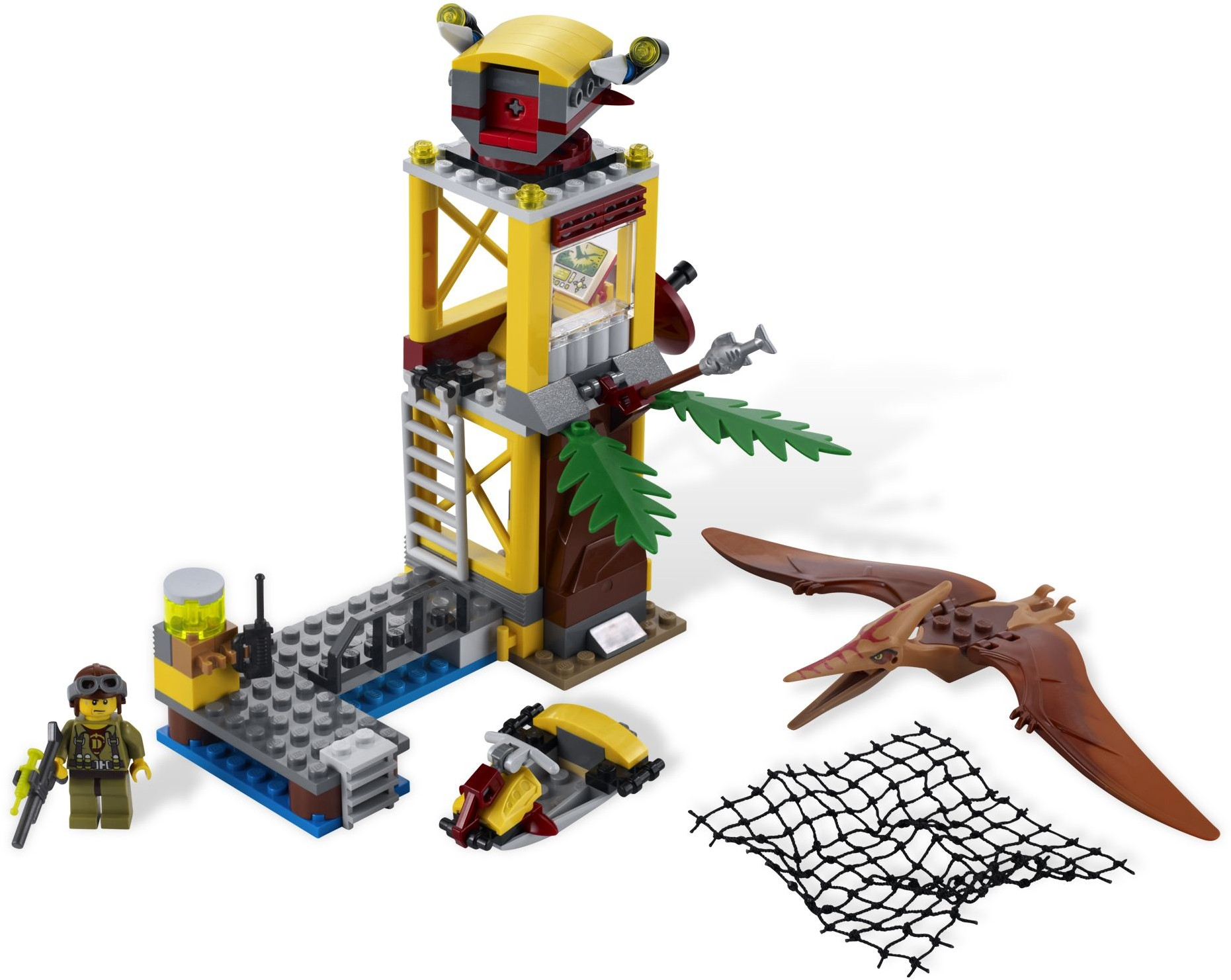 tower takedown - Lego Dinosaure