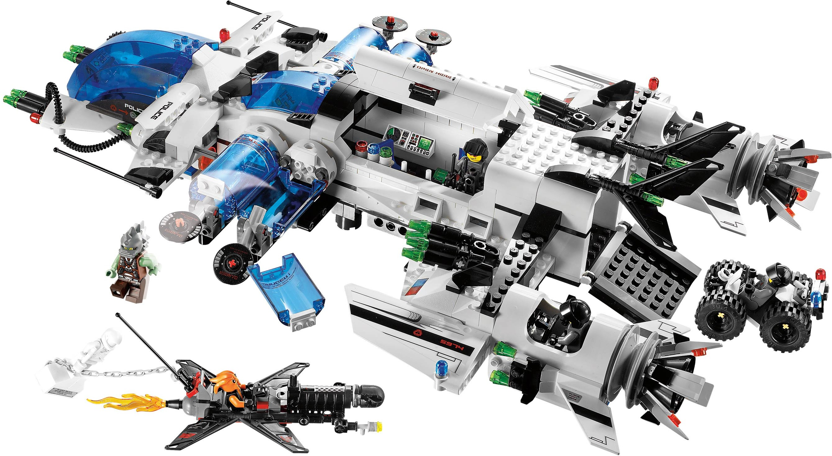 Space  Space Police 3  Brickset LEGO set guide and database