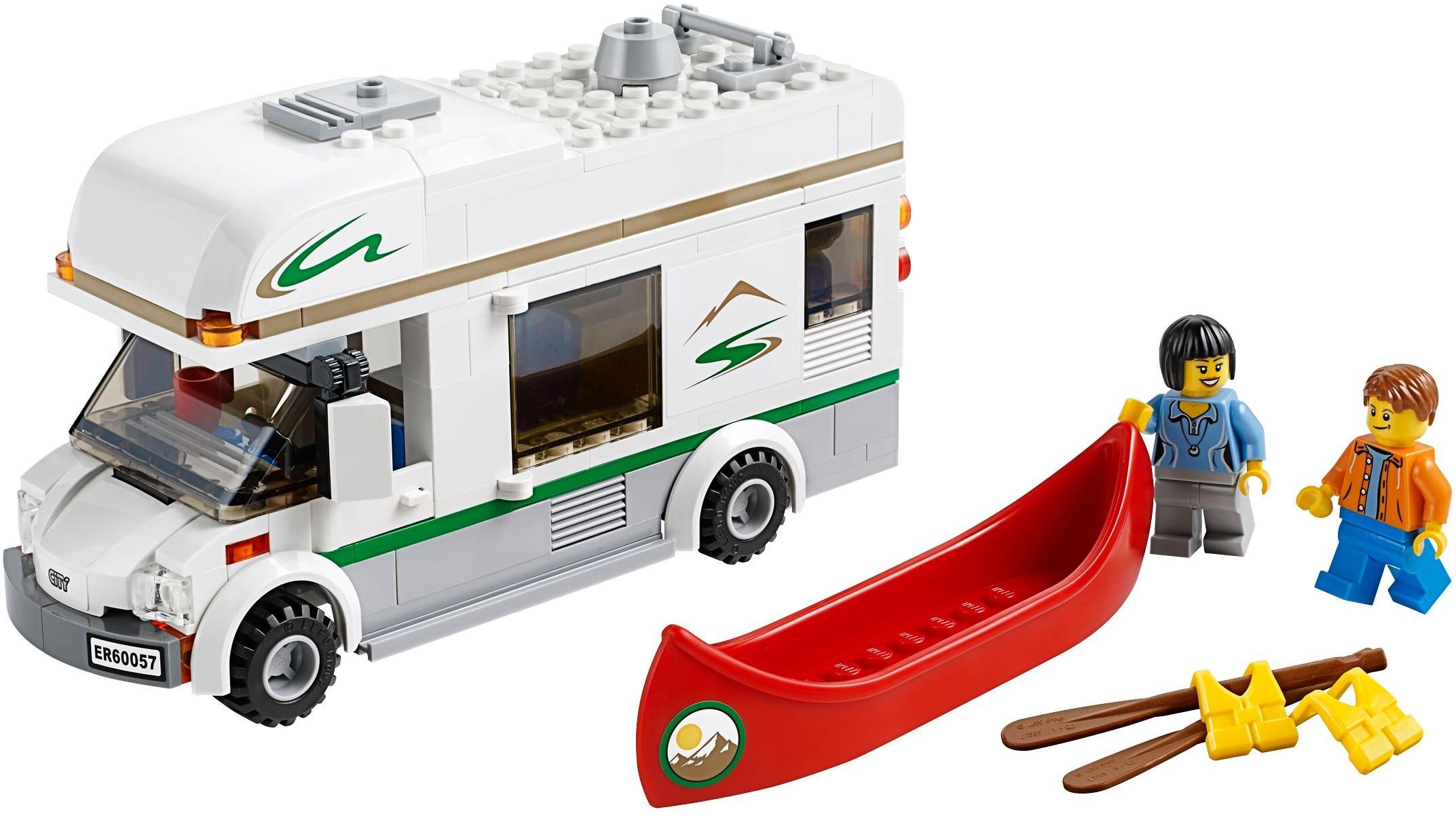 City Tagged Camper Van Brickset Lego Set Guide And Database