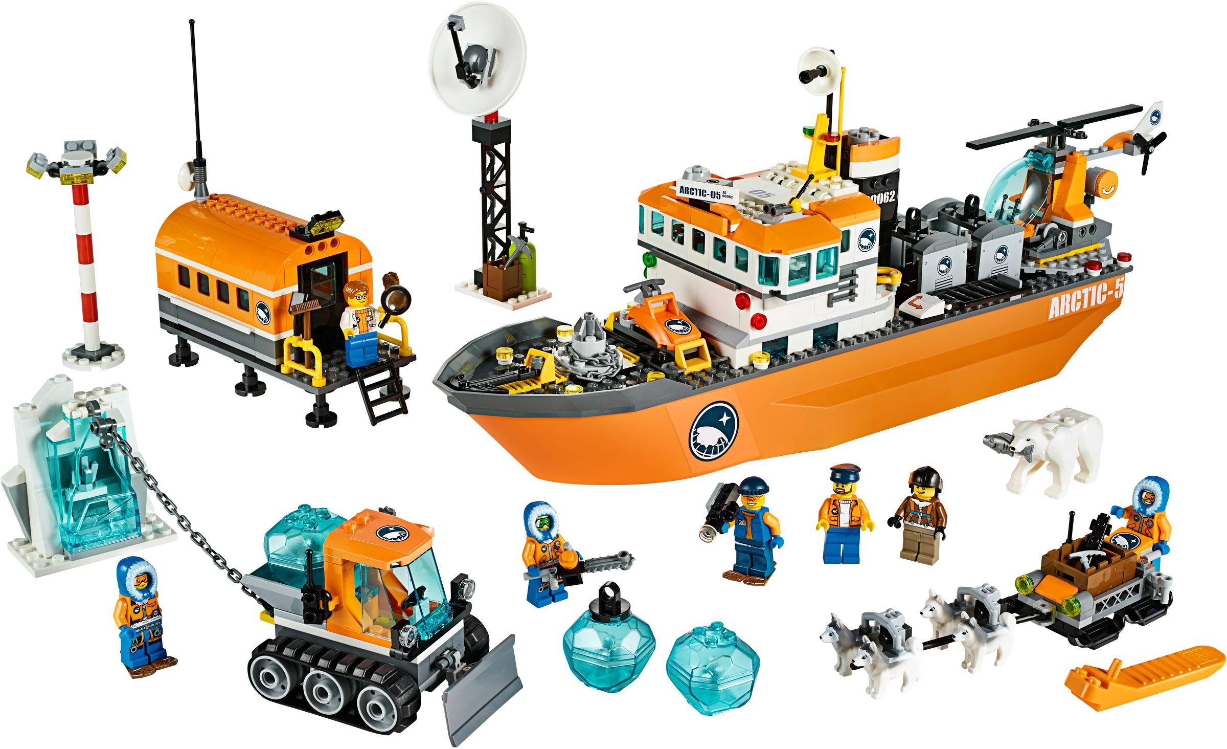 Minifigures City Lego Arctic Explorer Male cty0493