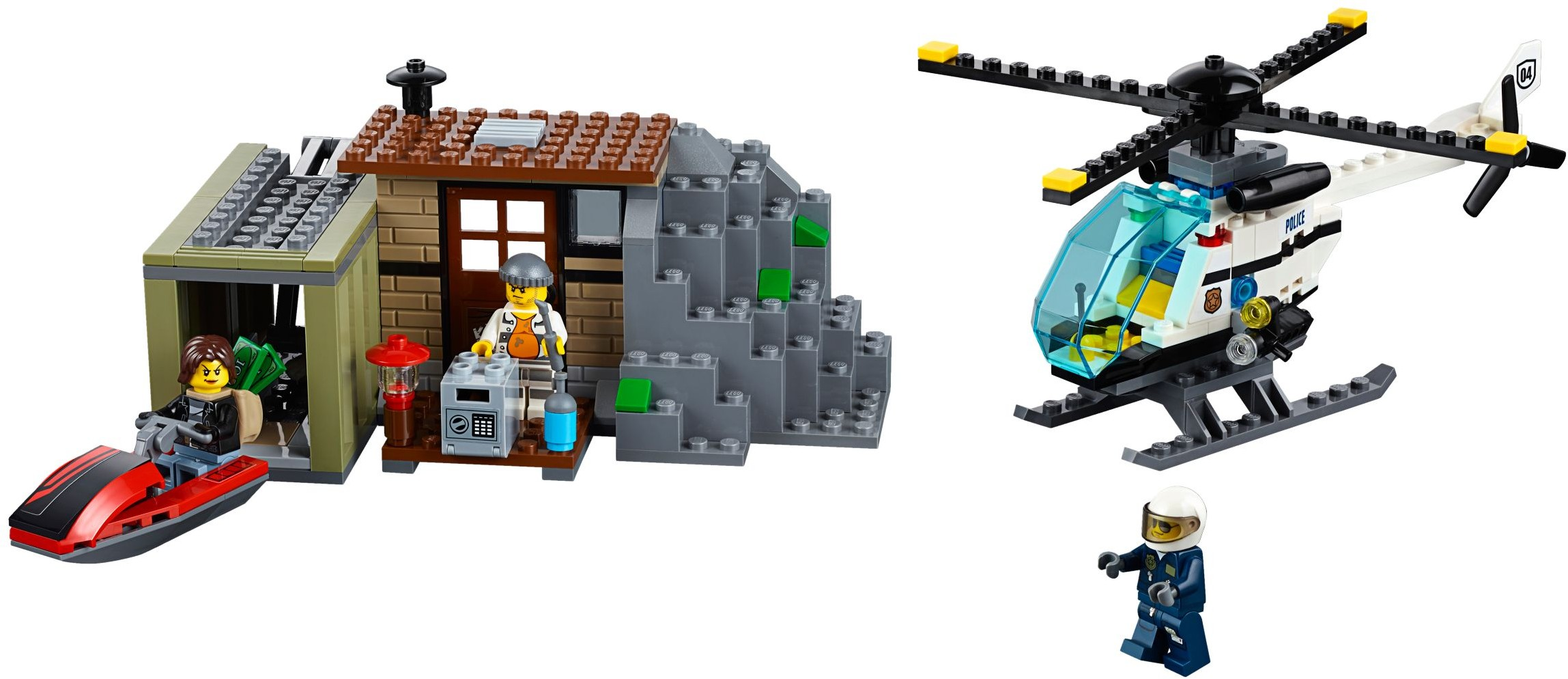 CITY SET 30346 - PRISON ISLAND HELICOPTER BRAND NEW LEGO YEAR 2016