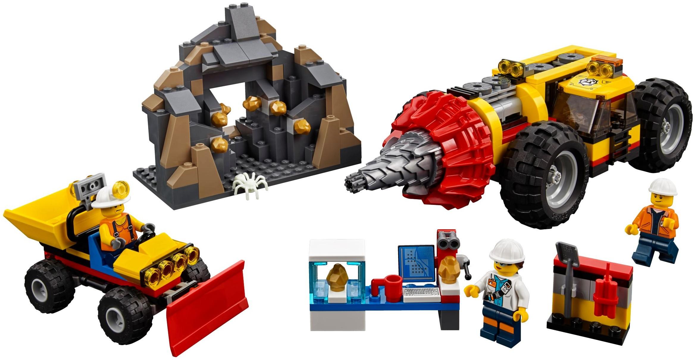 city mining 2018 brickset lego set guide and database. Black Bedroom Furniture Sets. Home Design Ideas