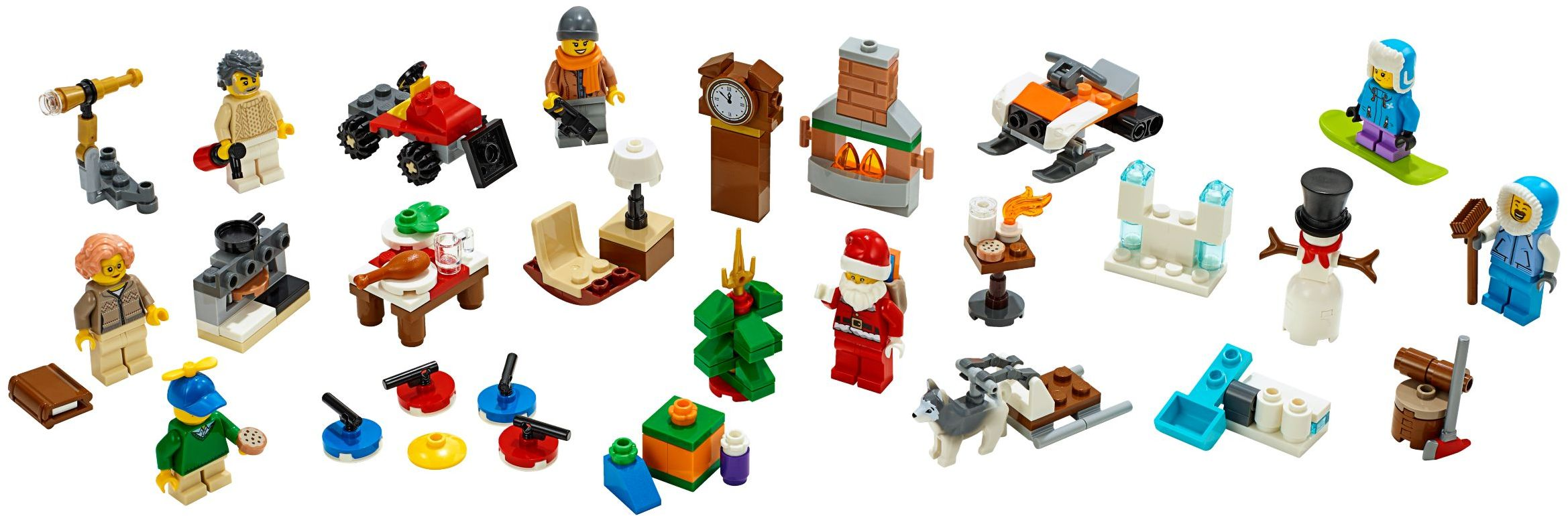 2 children /& accessories new Lego ® city polybag figurine snowman