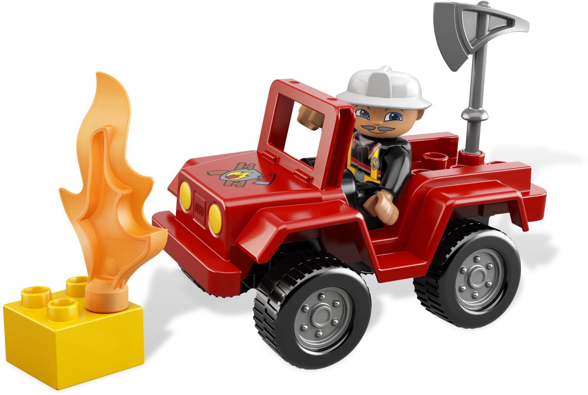Duplo Fire Brickset Lego Set Guide And Database 10593 Station Chief