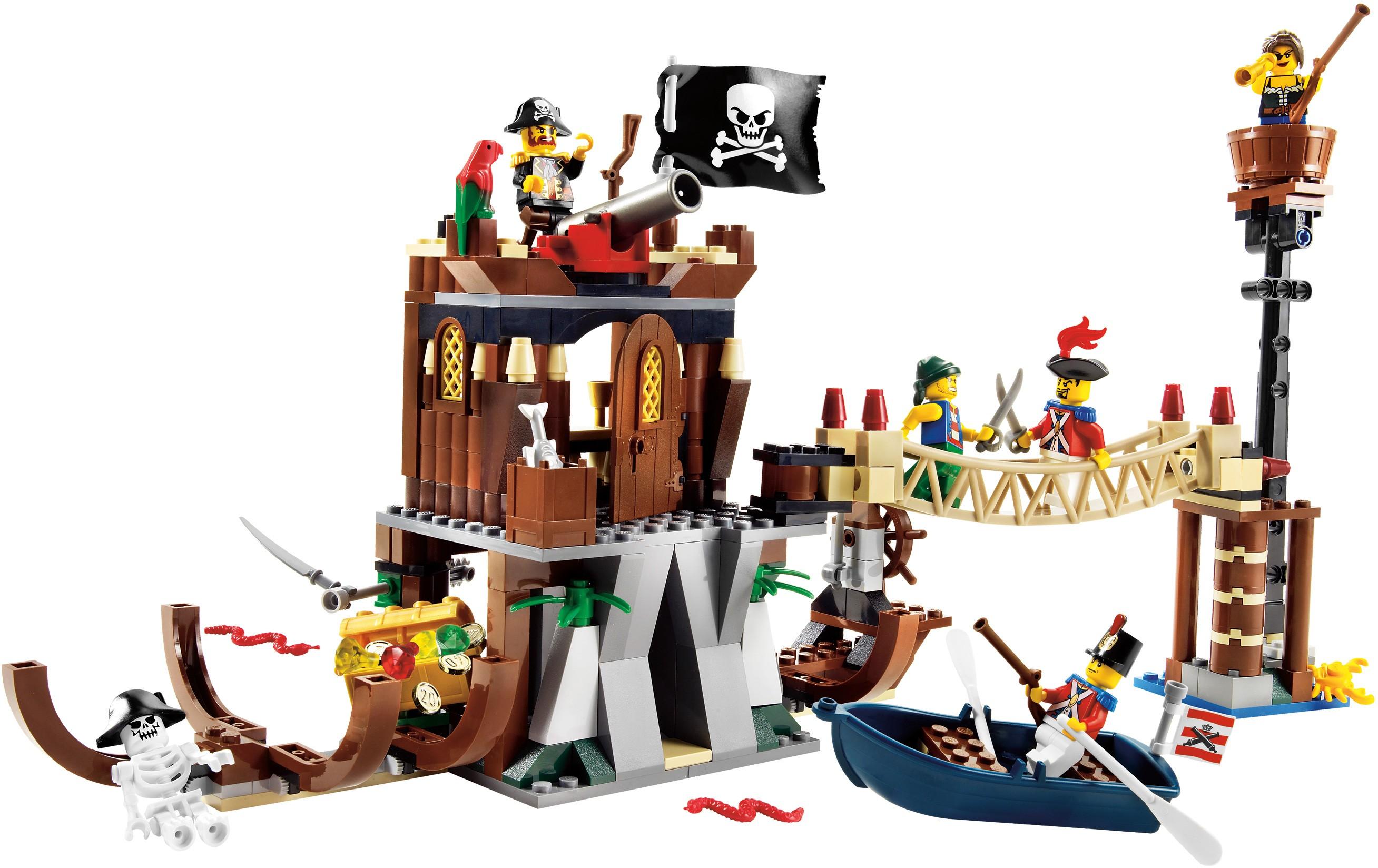 shipwreck hideout - Lego Pirate