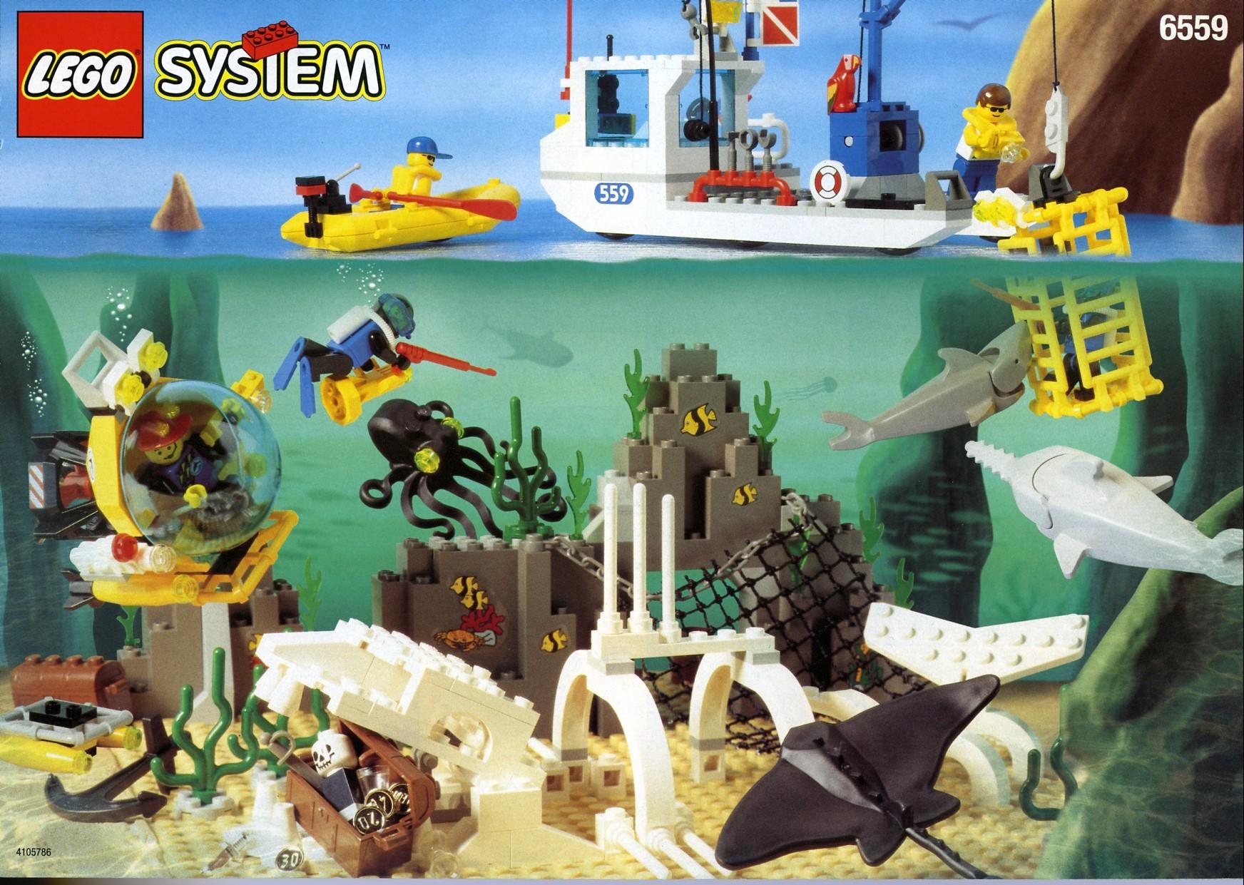 lego deep sea submarine instructions