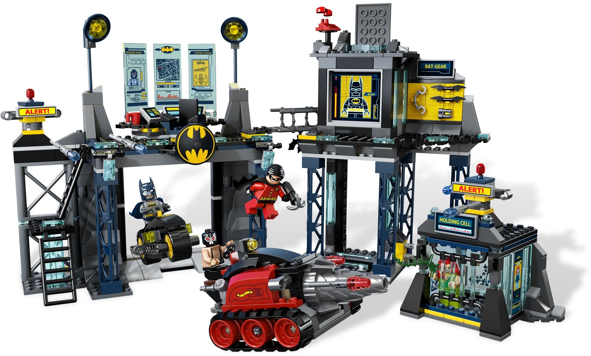 Tagged Poison Ivy Brickset Lego Set Guide And Database 70909 The Batman Movie Batcave Break In