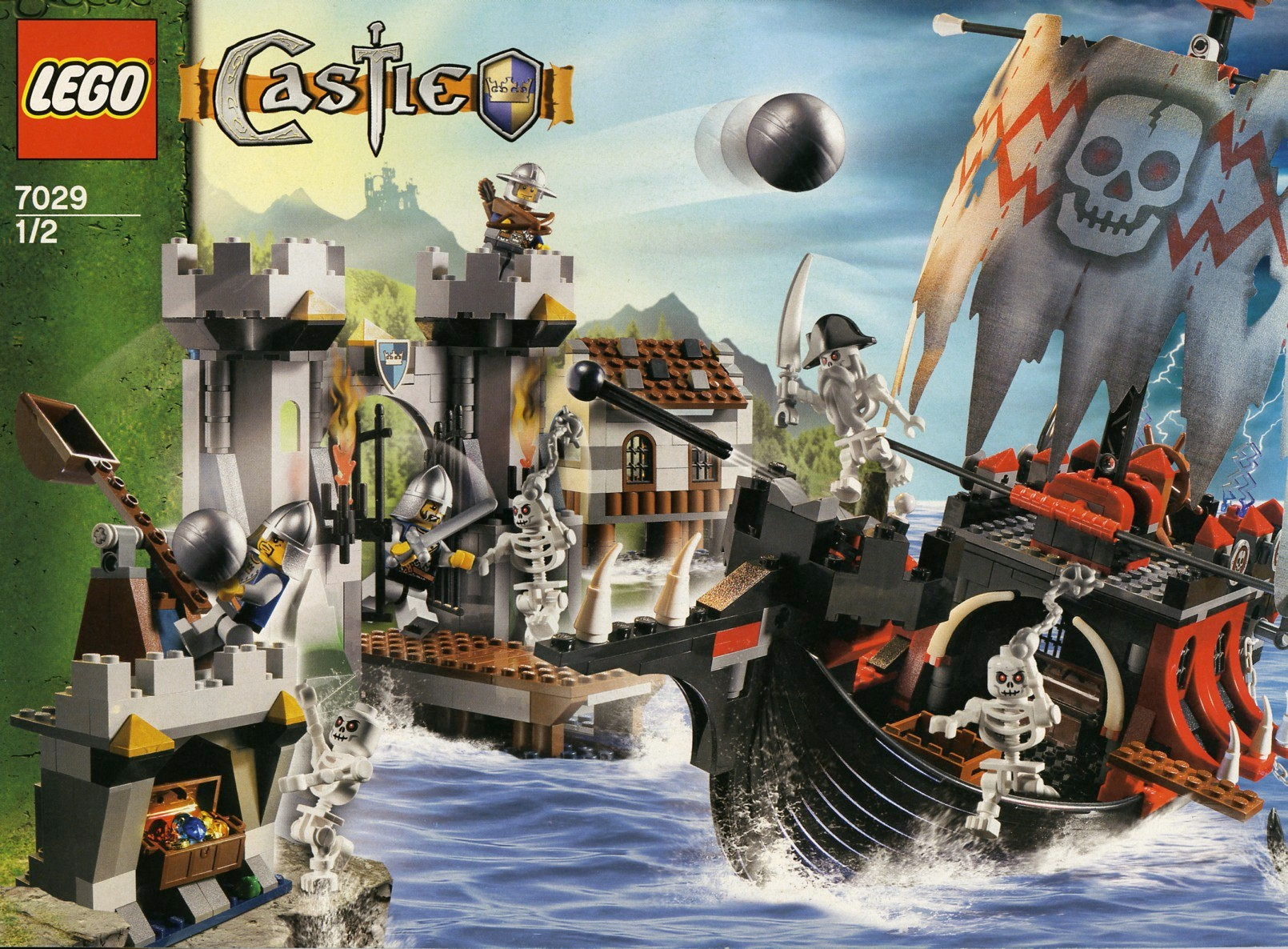 lego evil wizard castle instructions