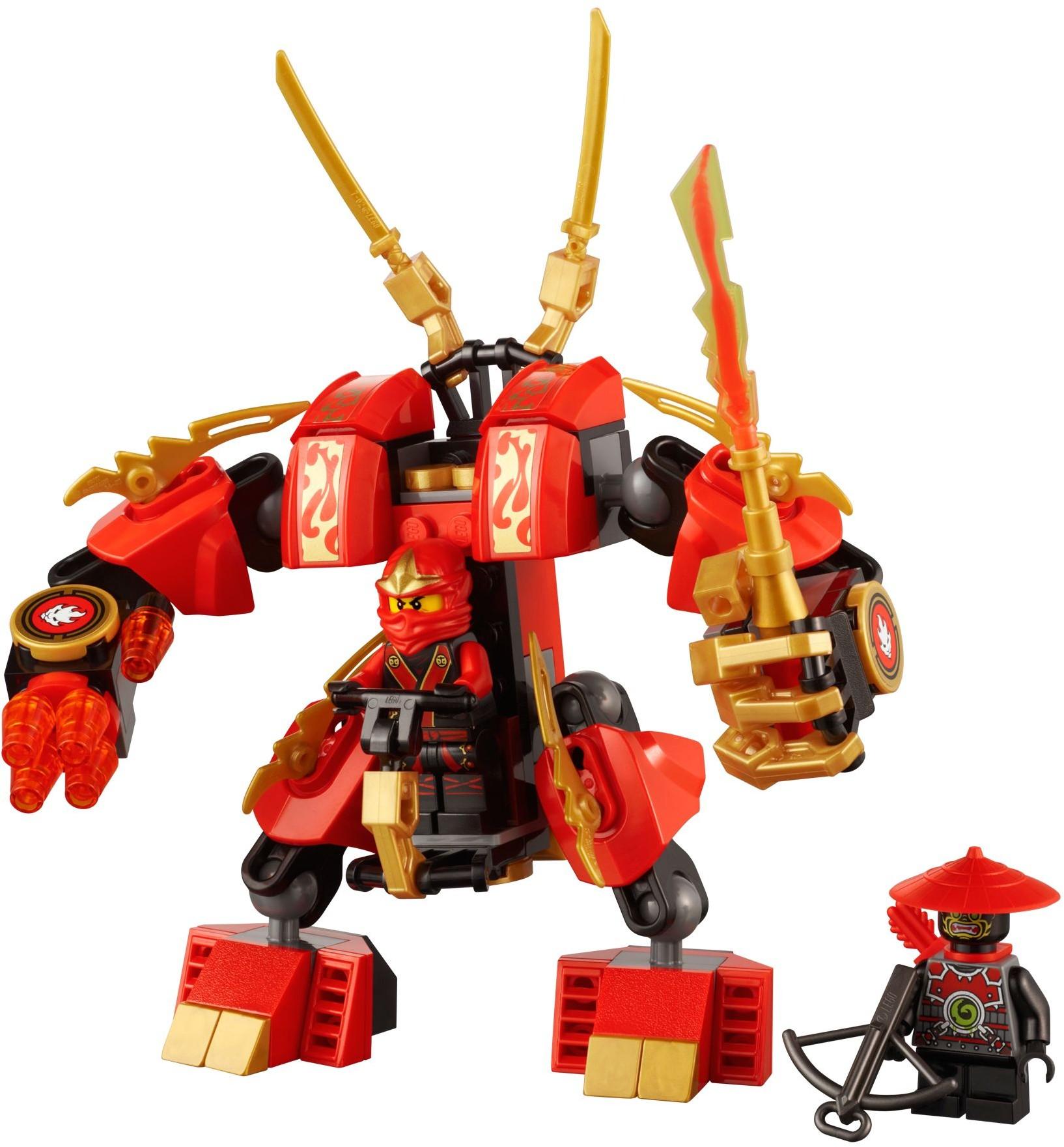 lego ninjago kai mech instructions