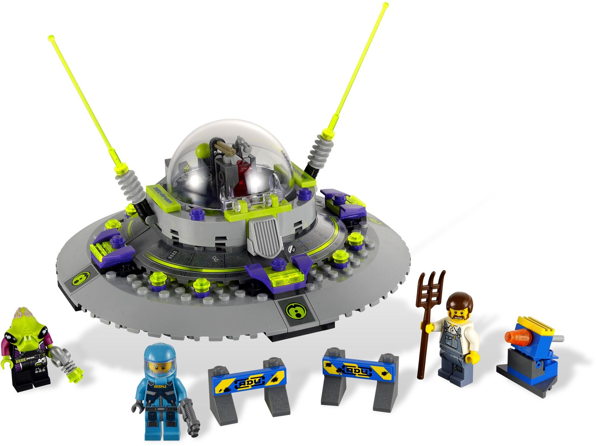 ALIEN MOTHERSHIP ATTACKS LEGO CITY! - Brick Rigs ... |Lego Alien Invasion