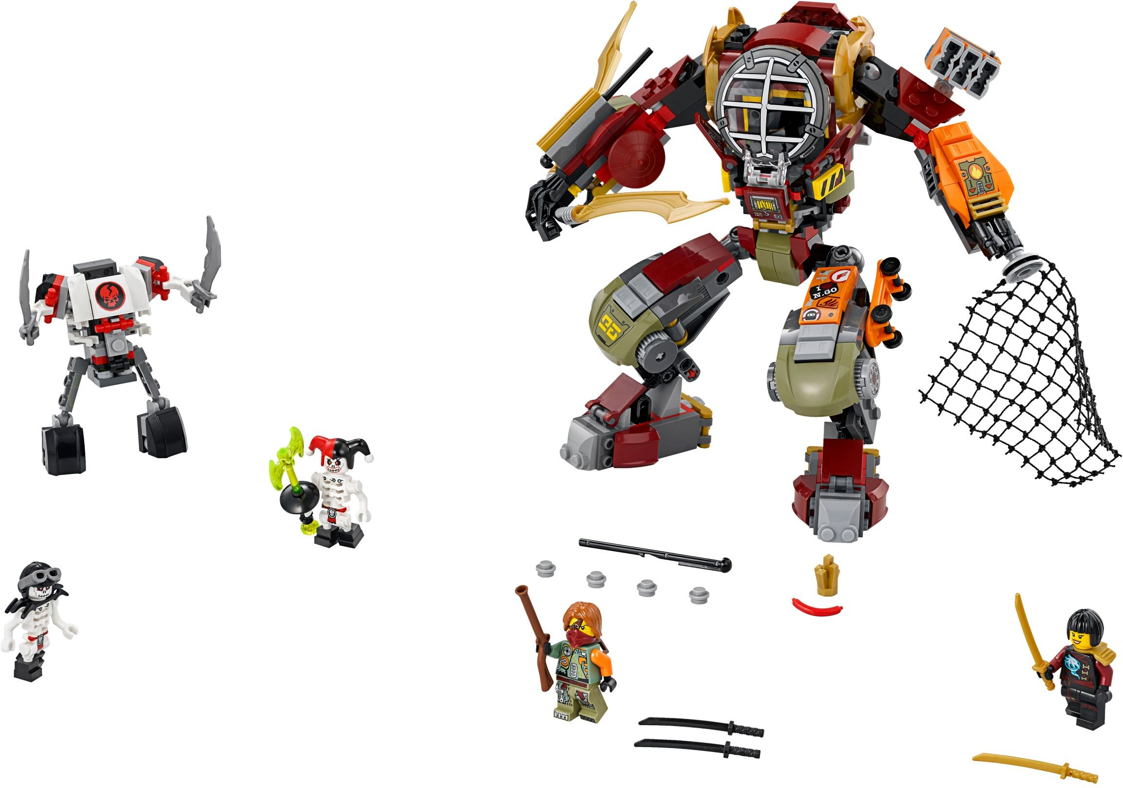 Ninjago 2016 Brickset Lego Set Guide And Database 70594 The Lighthouse Siege Salvage Mec
