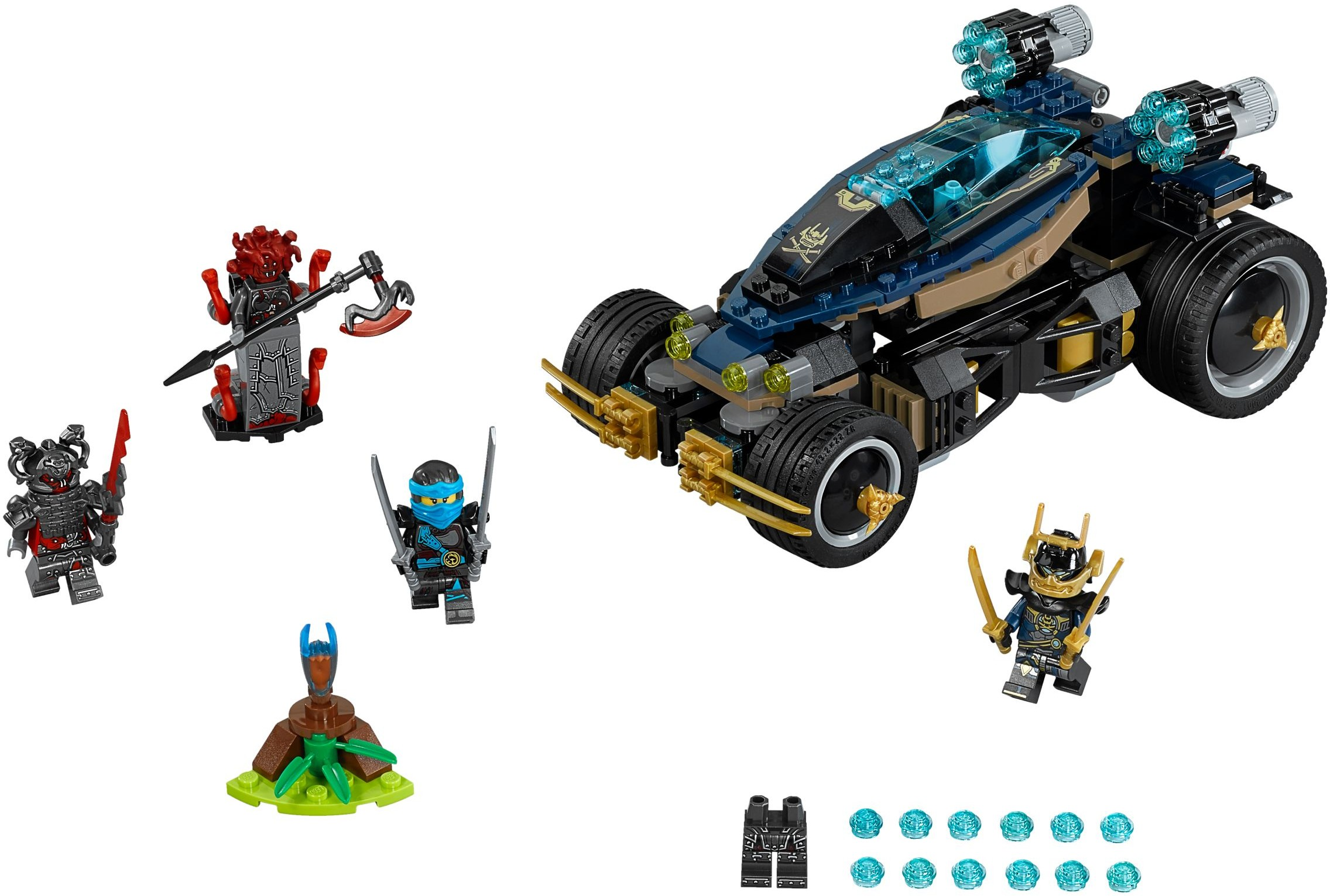 Tagged 39 slow mo time blade 39 brickset lego set guide and - Voiture ninjago ...