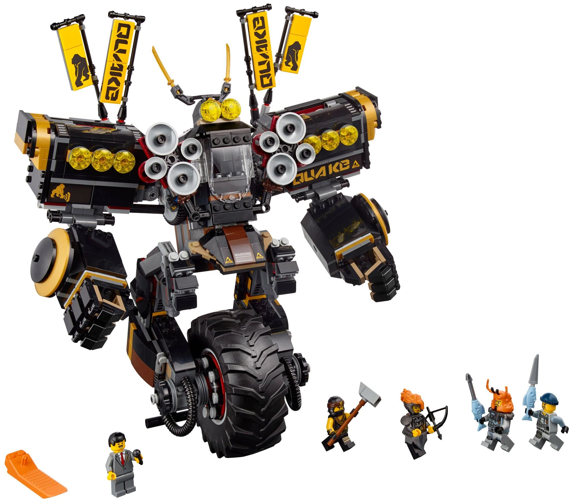 The lego ninjago movie brickset lego set guide and database - Lego ninjago voiture ...