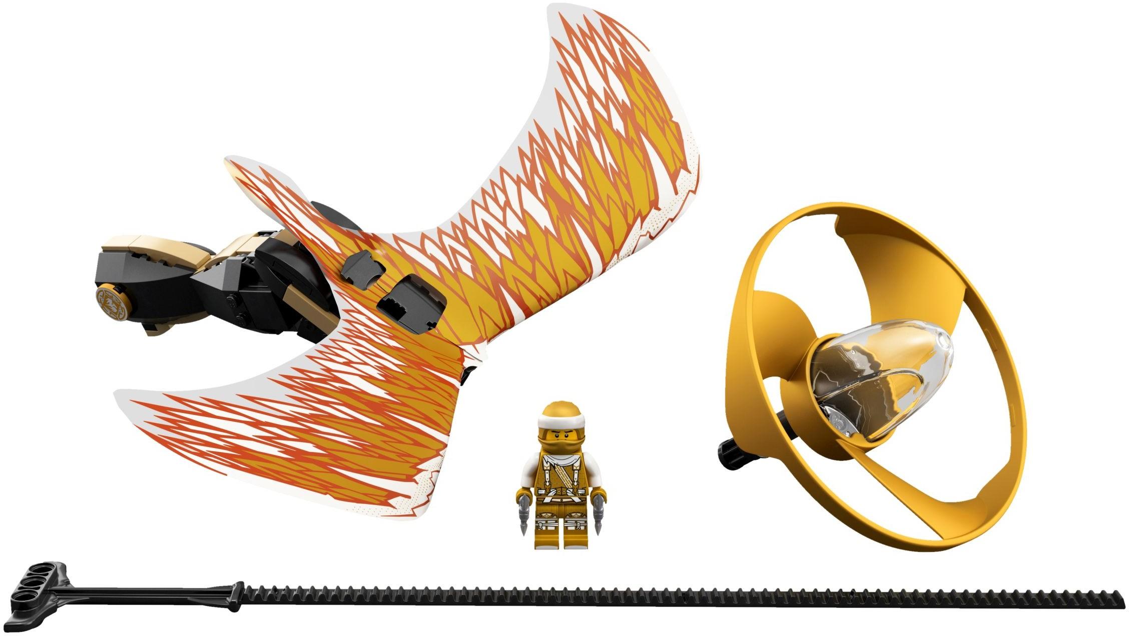 Lloyd Jay Sensei Wu Commander Blunck LEGO 70626 NINJAGO 6 Minifigure Lot