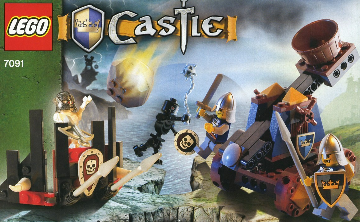 Castle Tagged Crown Knights Brickset Lego Set Guide And Database Skeleton Tower 7093 Catapult Defense