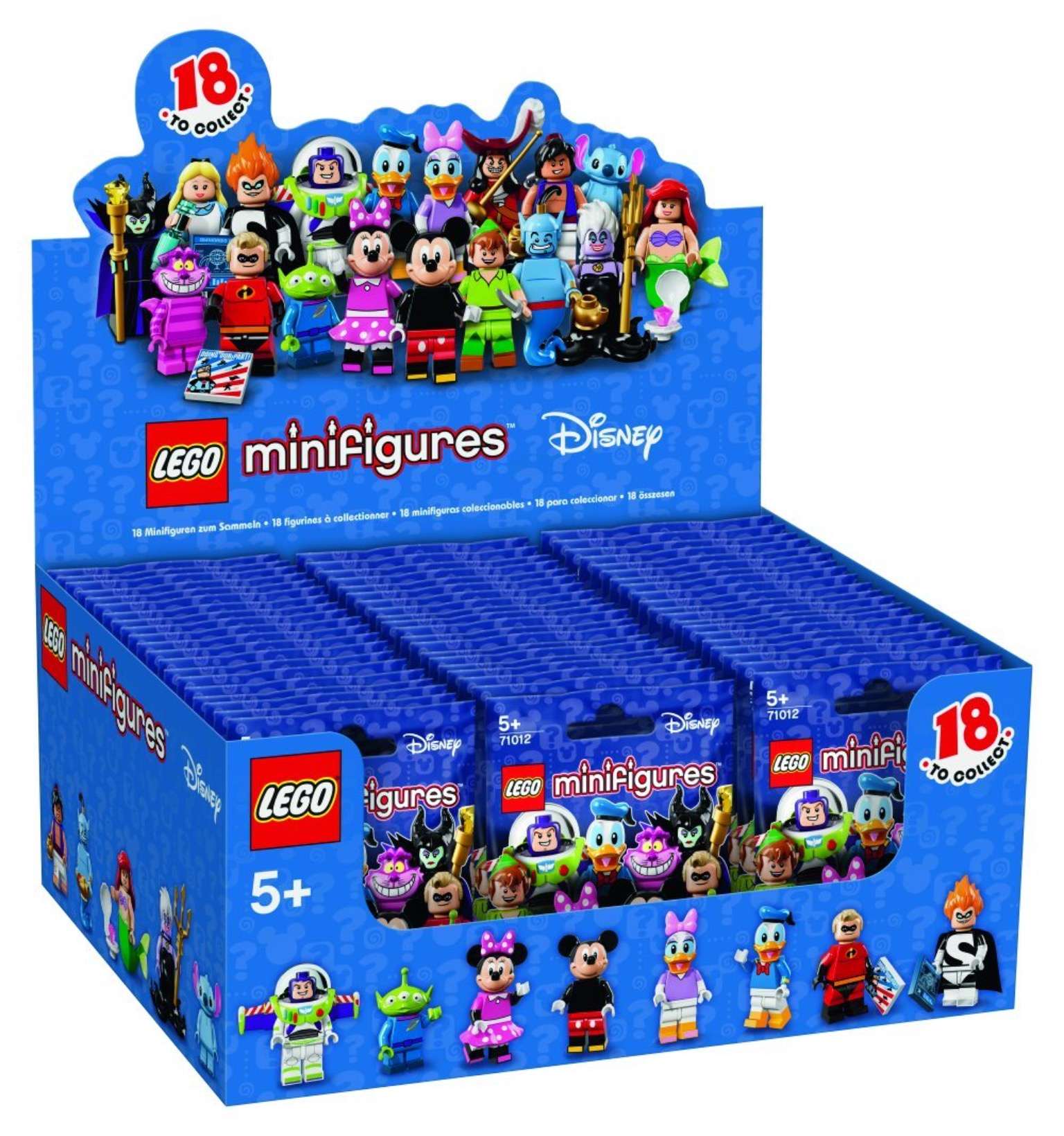 LEGO 71012 Disney Minifigur # 18 Ariel Neu