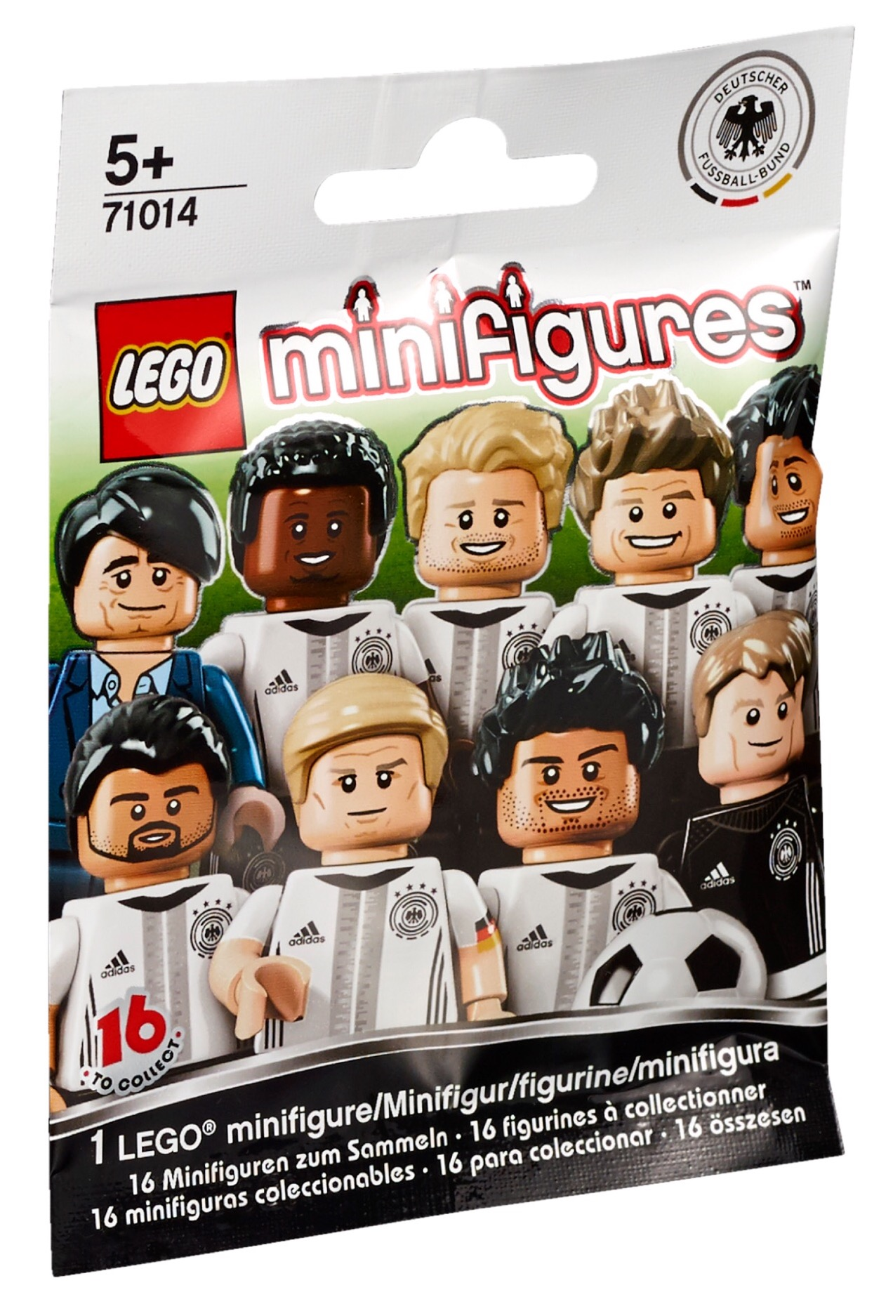 Collectable Minifigures | DFB Series | Brickset: LEGO set guide and ...