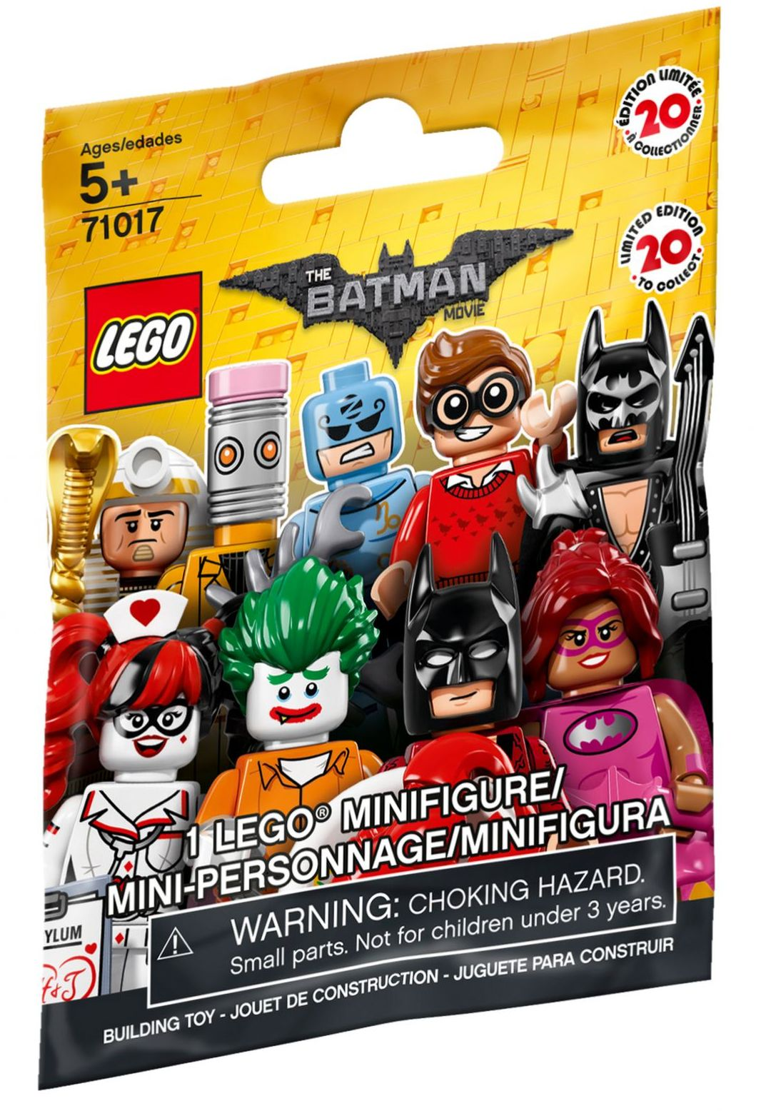 Pink Power Batgirl minifigure Factory Sealed! New Lego Batman Movie series