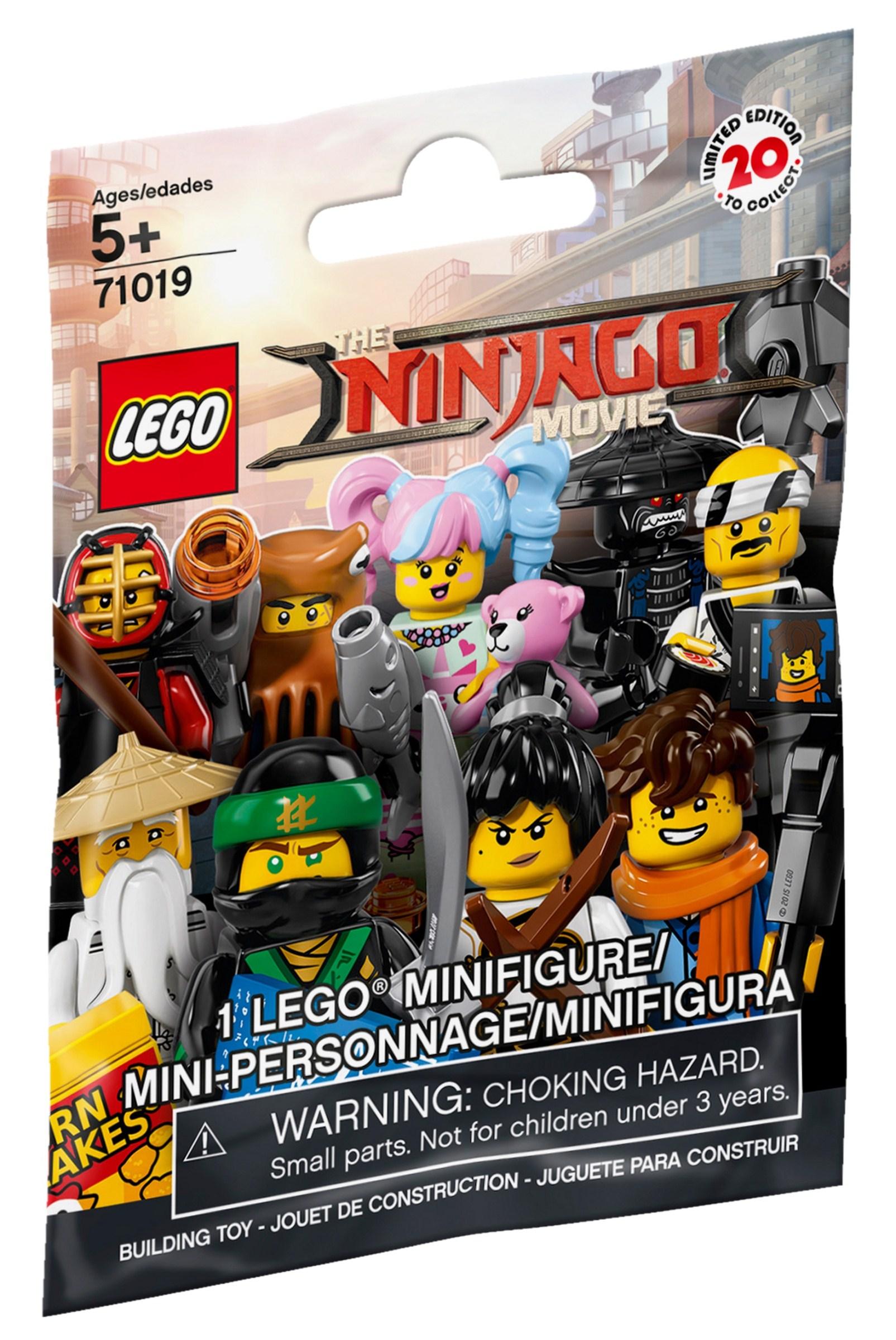 Collectable Minifigures The Lego Ninjago Movie Brickset Lego
