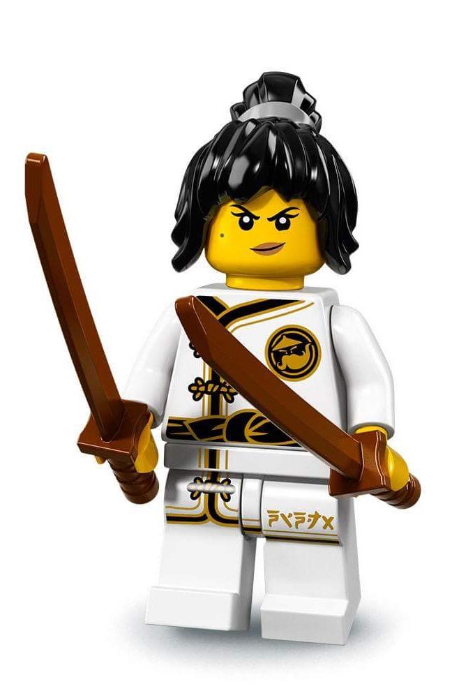 LEGO-MINIFIGURES SERIES THE NINJAGO MOVIE X 1 WEAPON FOR KAI KENDO PARTS