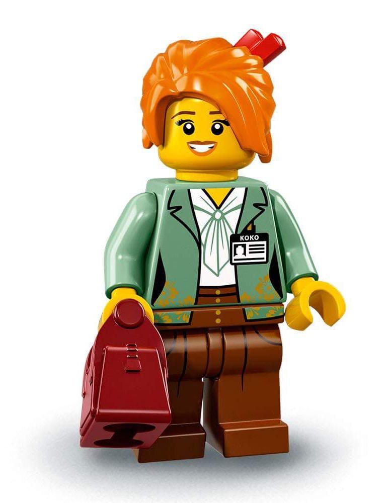 Welp Collectable Minifigures | The LEGO Ninjago Movie | Brickset: LEGO XR-41