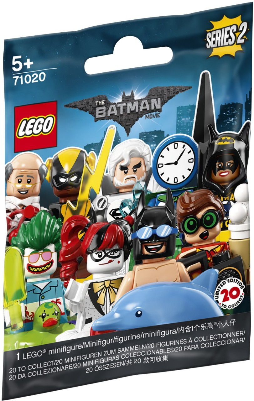 Collectable Minifigures   The LEGO Batman Movie series 2   Brickset: LEGO  set guide and database