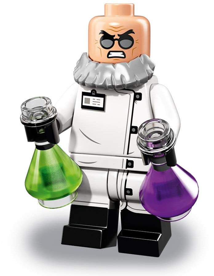LEGO Batman Movie Series 71020 Doctor Phosphorus Minifigure New 18