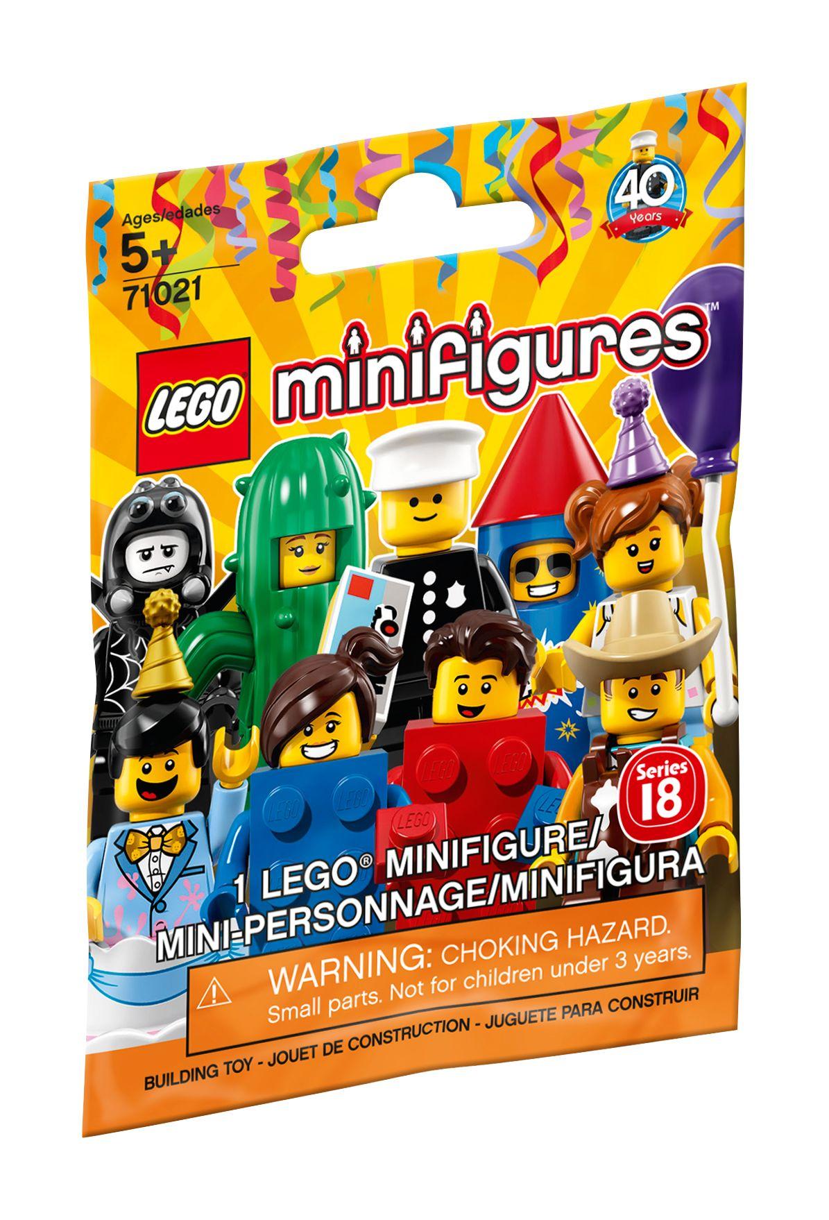 LEGO ® Minifigures Série 71021 18 no 8 Classic Officier de Police