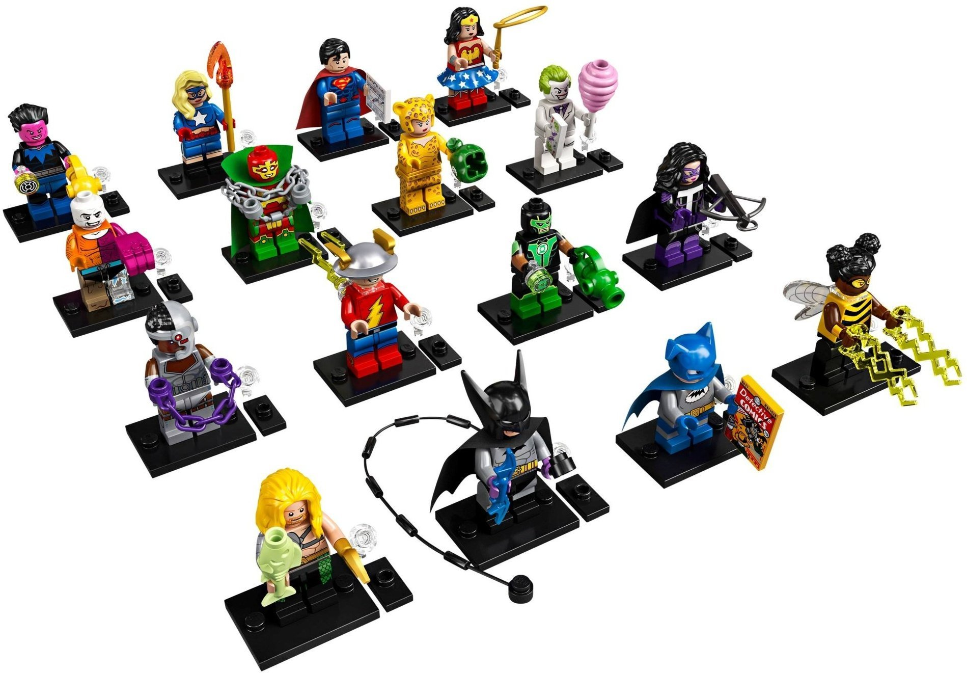 15 Lego Mini Figures Series 13 16 17 and Batman Movie individual figures 14