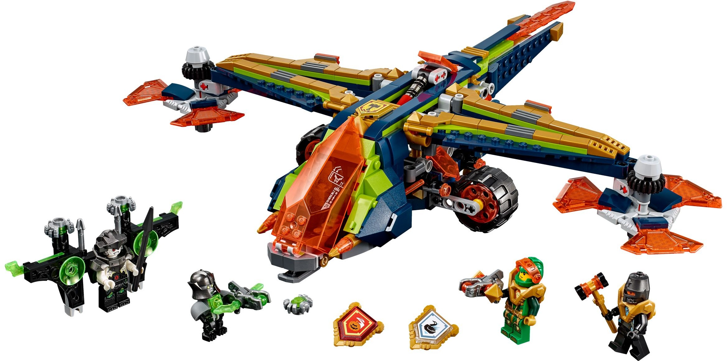 Nexo Knights | 2018 | Brickset: LEGO set guide and database