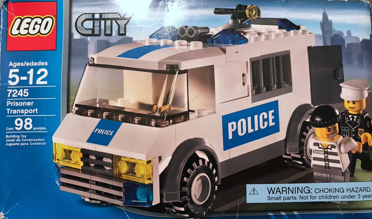 Lego City Town Police Prisoner Minifigure Building Toys Asepticprocess Fr