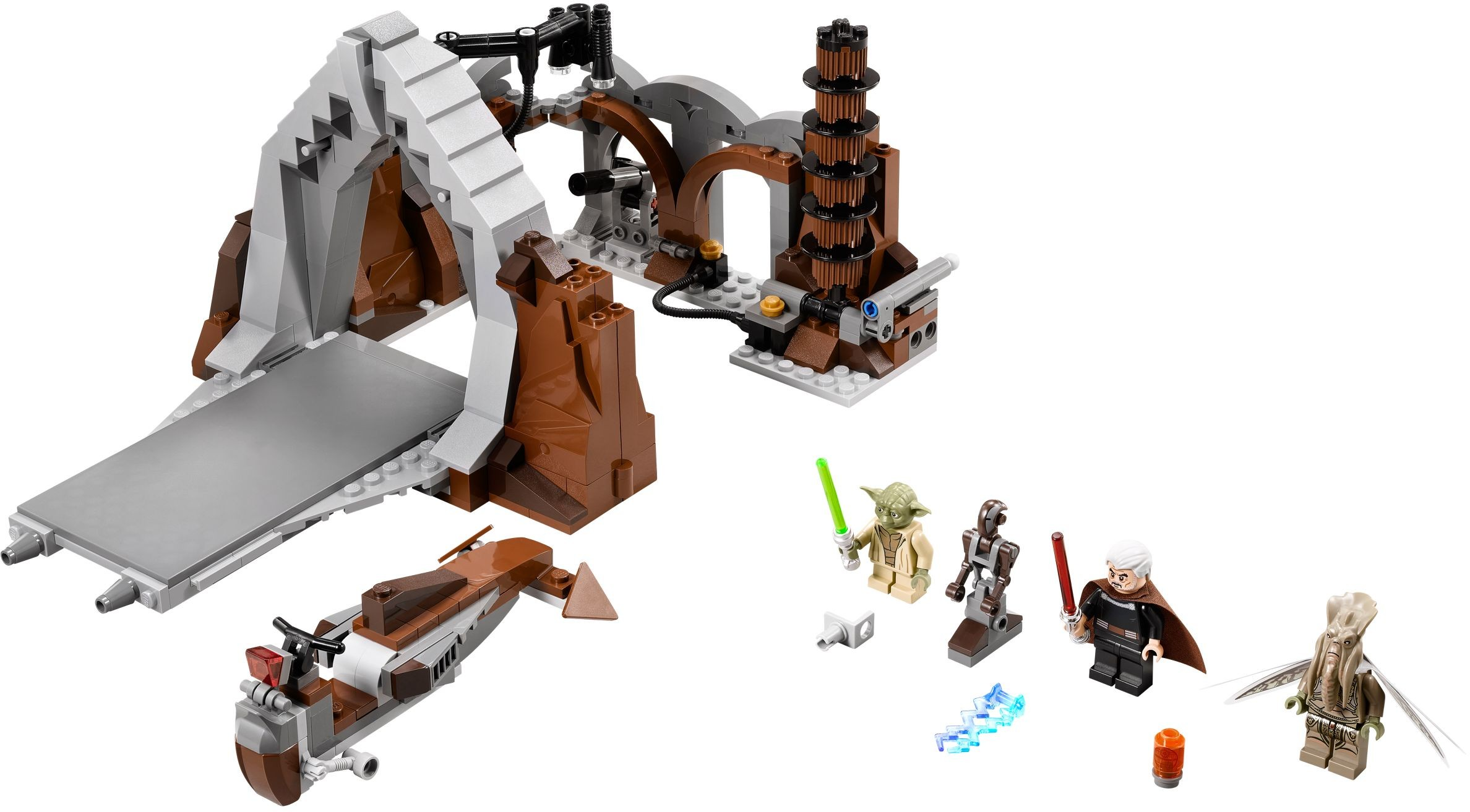 Whats Missing Attack Of The Clones Brickset Lego Set Guide And