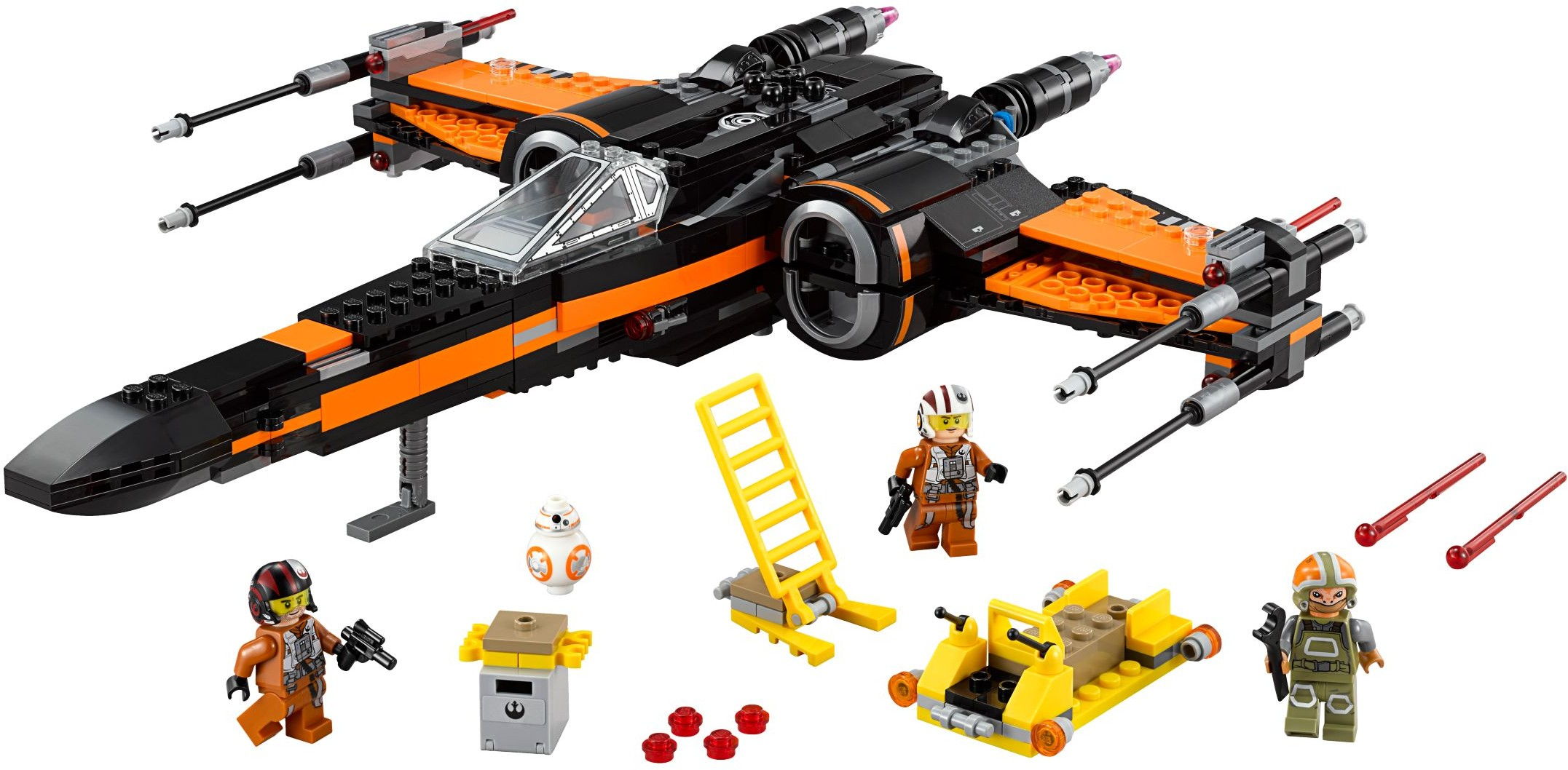 LEGO Star Wars Poe's X-Wing Fighter (75102) - $79.99