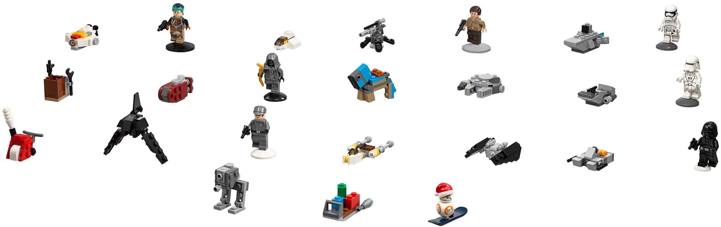 Antoc Merrick Figurine Lego Star Wars Rogue One-100/% Lego - NEW Set 75213