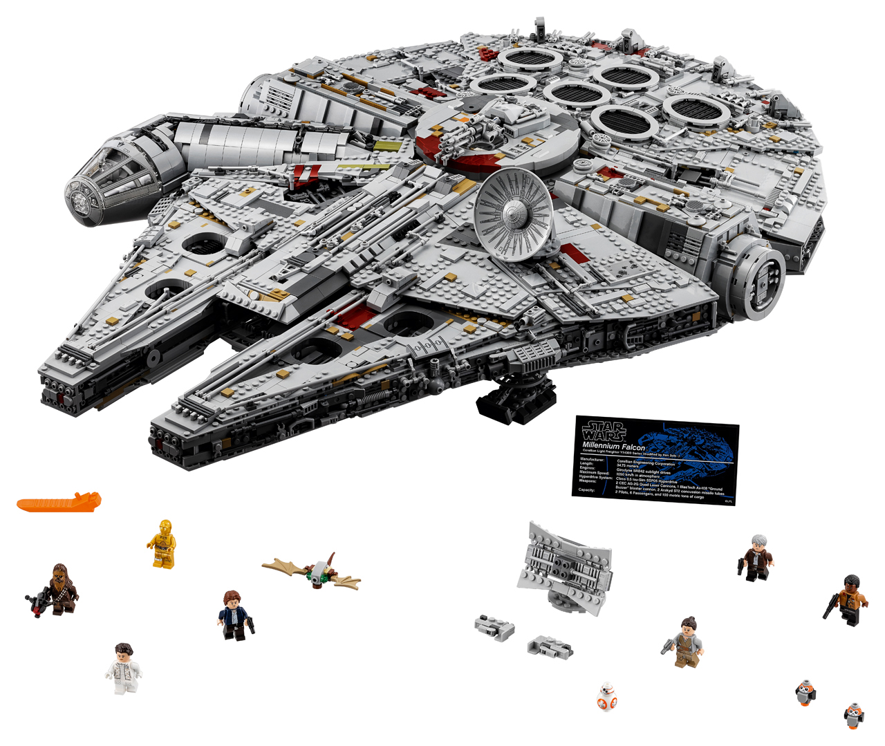 What LEGO Set has the Most Pieces