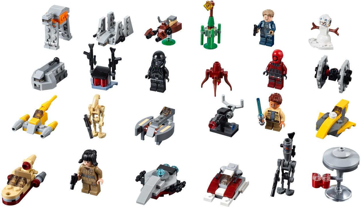 Star Wars   2018   Tagged 'Advent Calendar'   Brickset: LEGO set