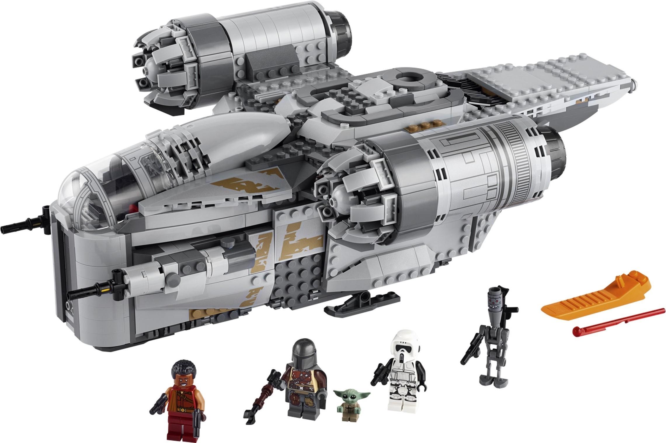 Star Wars Baby Yoda Cot Mandalorian Action Toy Custom MiniFigure For Lego Moc
