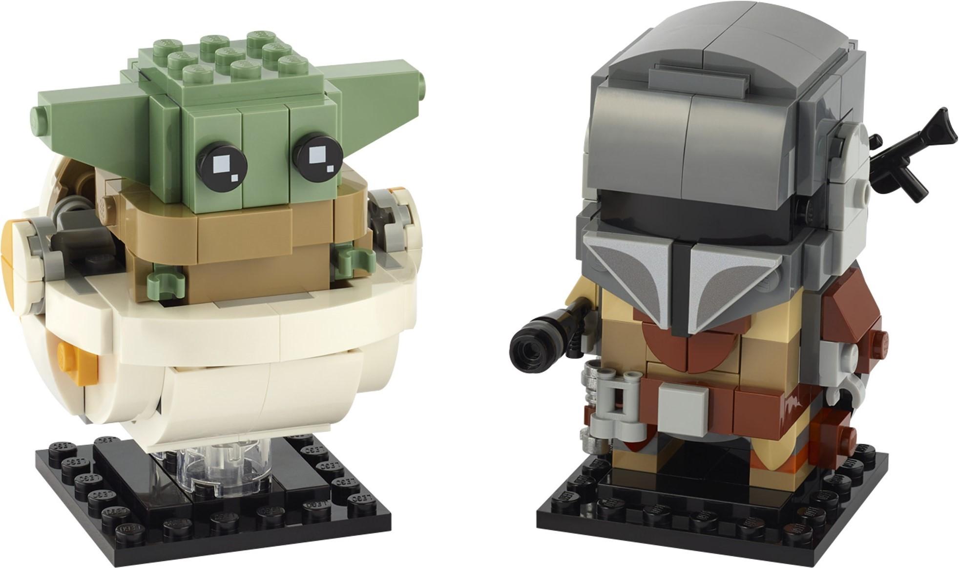 NEW Baby Yoda The Mandalorian Star Wars Lego Moc Minifigure