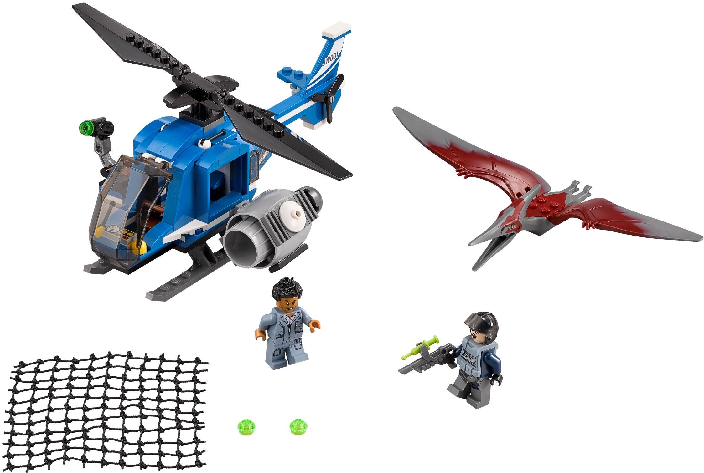pteranodon capture - Jurassic Lego