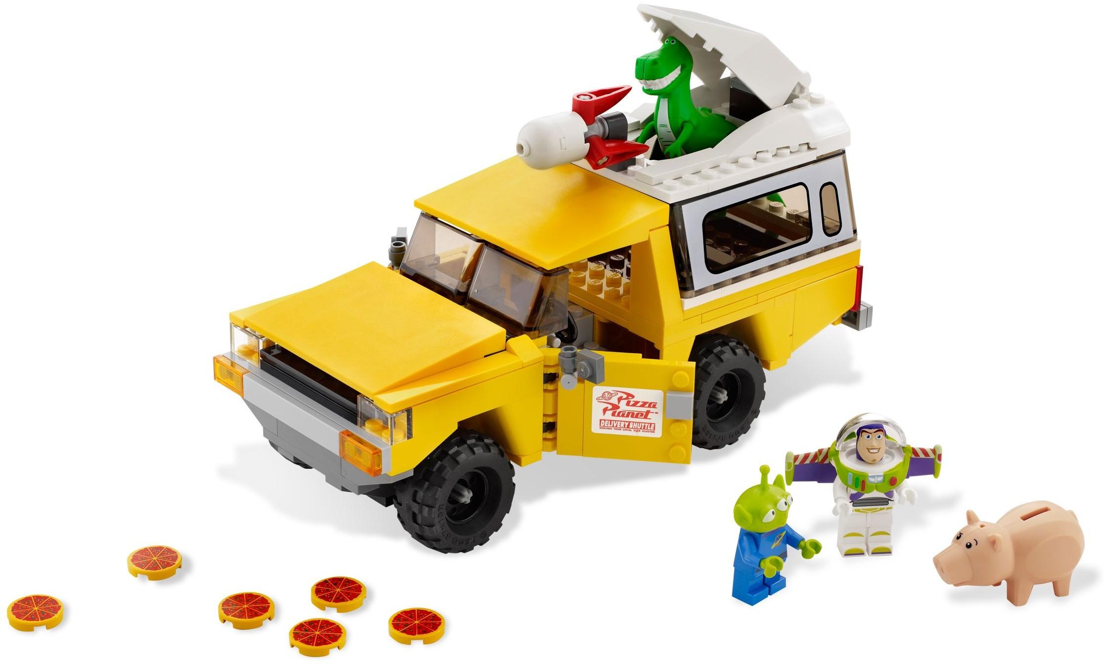 LEGO Disney Rex Toy Story Dinosaur Minifigure Figure From Sets 7597 7598