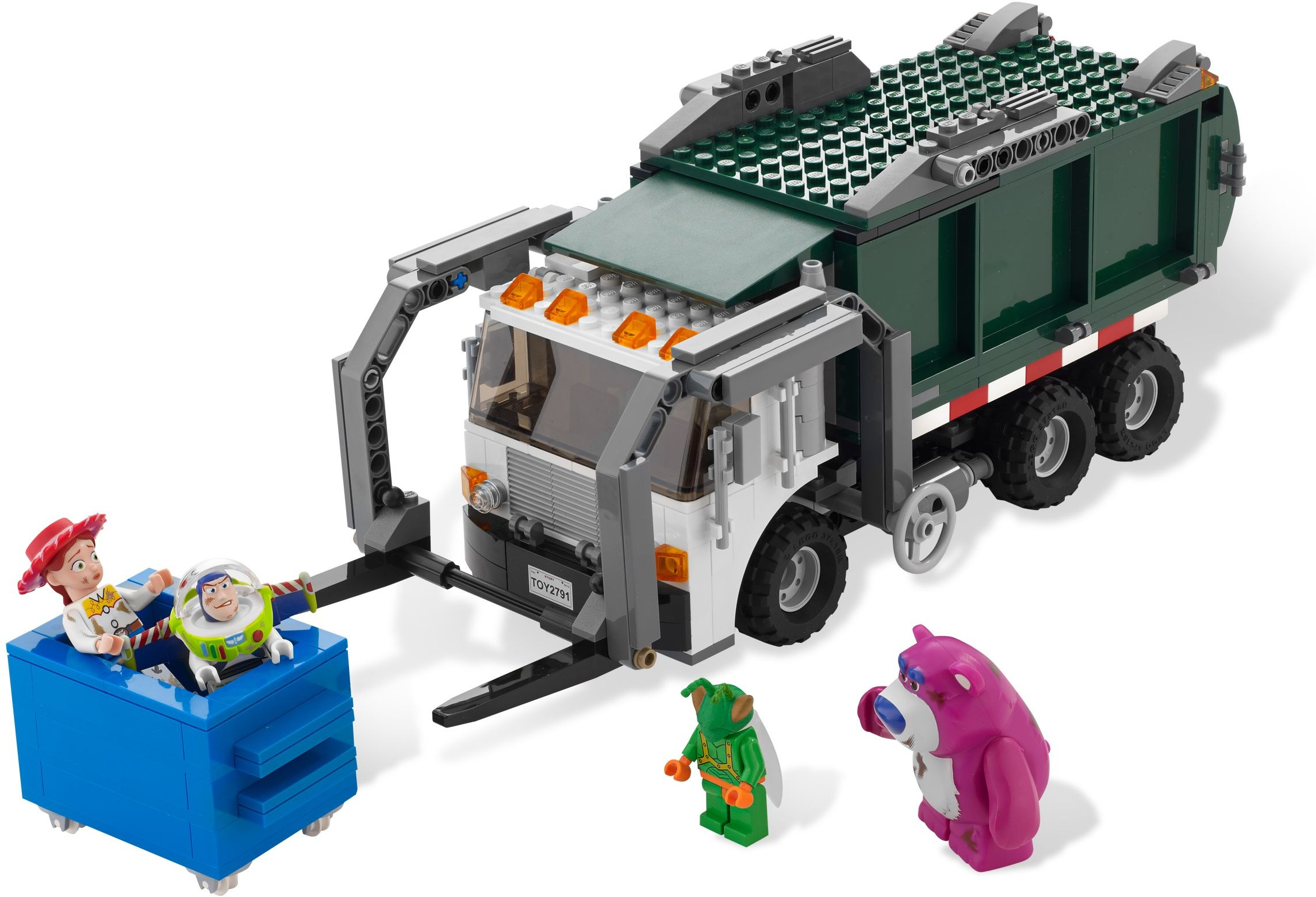 Tagged Refuse Truck Brickset Lego Set Guide And Database