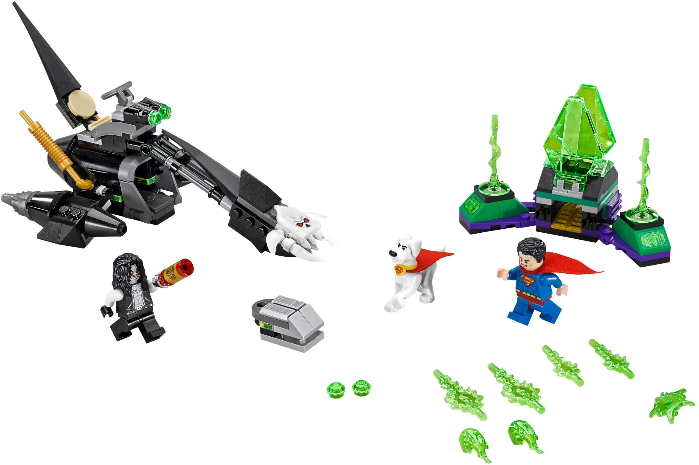 Lego Cyborg Superman Set