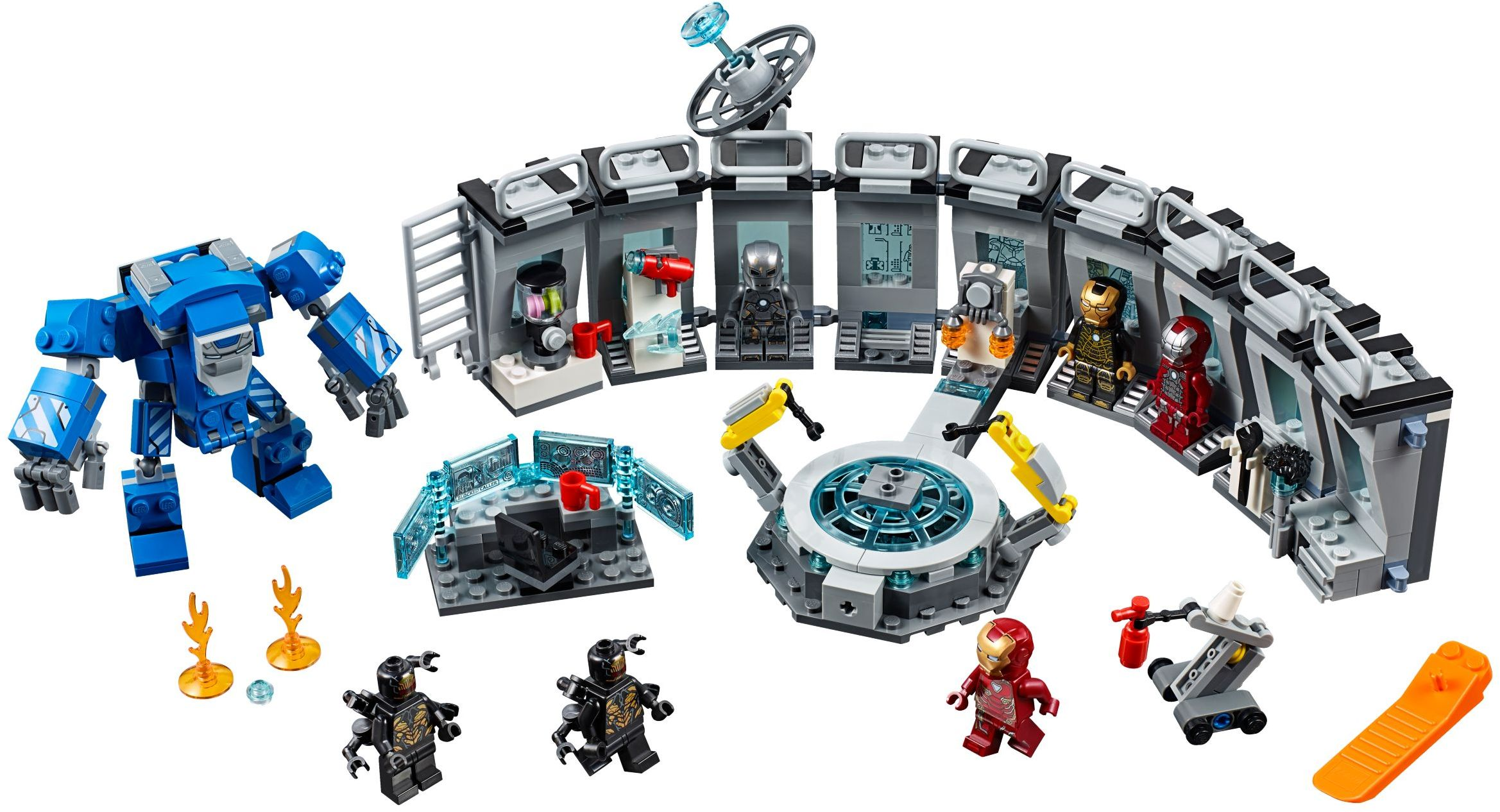 Lego Marvel Avengers Figur Nebula aus Set 76131