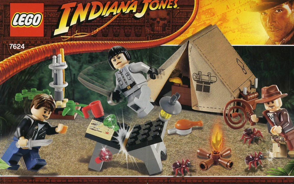 Indiana Jones Crystal Skull Lego