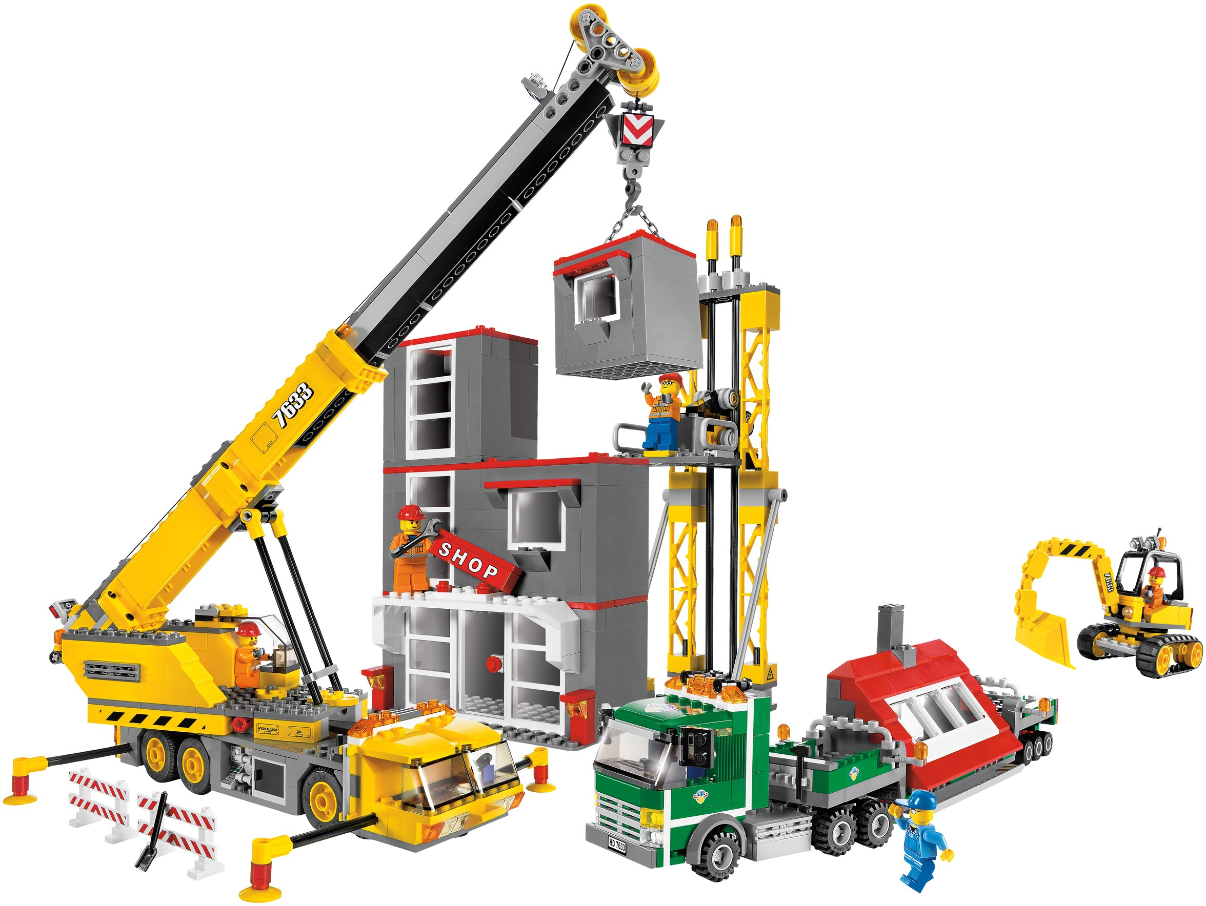City construction brickset lego set guide and database - Notice de construction lego ...