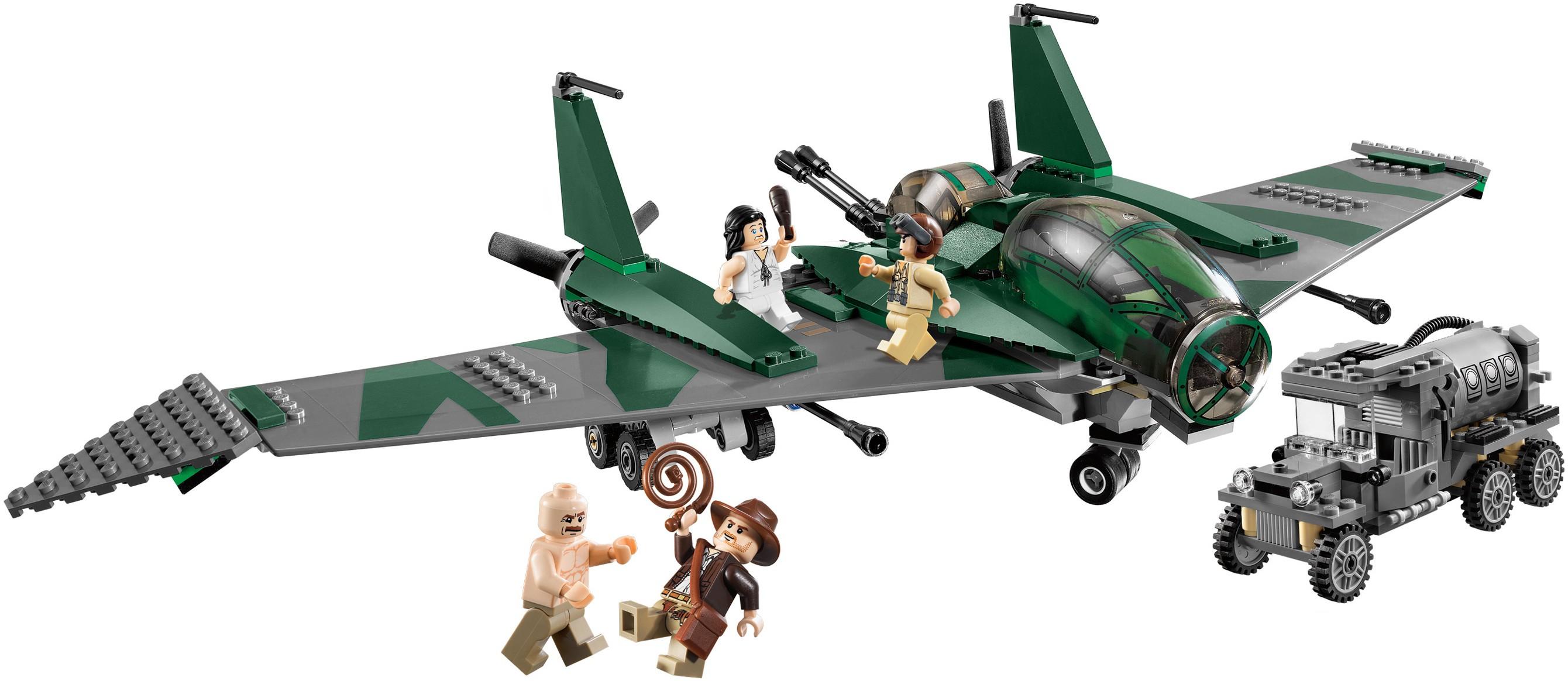 Indiana Jones Raiders Of The Lost Ark Brickset Lego Set Guide