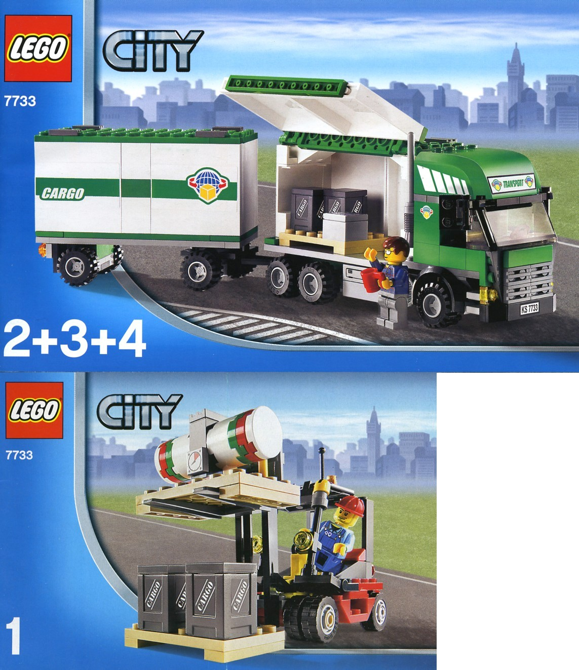 City Tagged Articulated Lorry Brickset Lego Set Guide And Heavy Hauler 7998 Truck Forklift